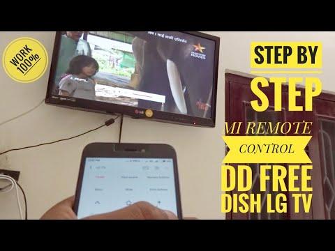 MI REMOTE APP CONTROL LG TV DD FREE DISH , HOW TO USE XIAOMI REDMI REMOTE  IR BLASTER INFERRED RAYS
