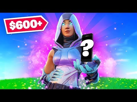 The *NEW* Exclusive $600+ Fortnite Skin!