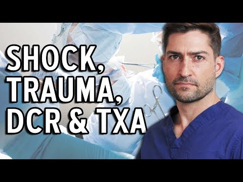 Shock, Damage Control Resuscitation & Tranexamic Acid Explained By Trauma Surgeon
