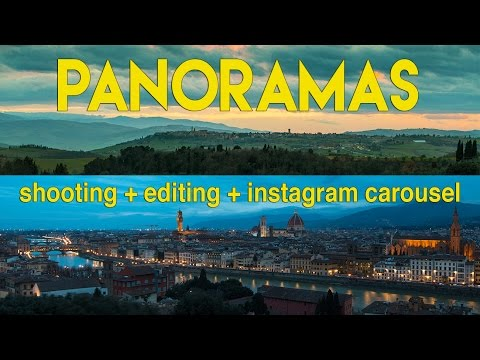 Expand your horizons: Learn how to shoot panoramic images from start to finish
