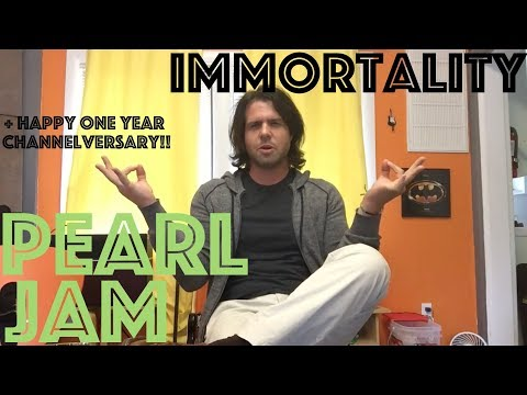 How To Play Immortality By Pearl Jam :) & Happy One Year!!
