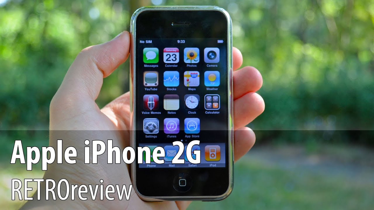 RETROreview IPhone 2G Prima Generatie Din 2007