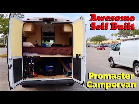 Van Life; Awesome Self Built Promaster Campervan!