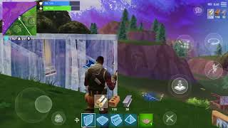 Fortnite IOS gameplay!! Played on iPhone 7 Plus