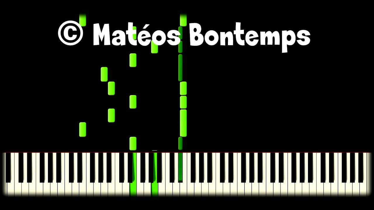 nouveaux produits pour qualité authentique beau Barbara - Chapeau bas (extrait) 🌟🌟 Piano - Matéos Bontemps
