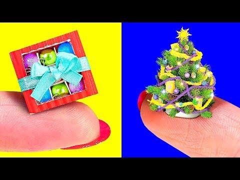 12 DIY AMAZING BARBIE CHRISTMAS CRAFTS