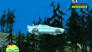 Машина из фильма Назад в будущее 2 v Gta SA