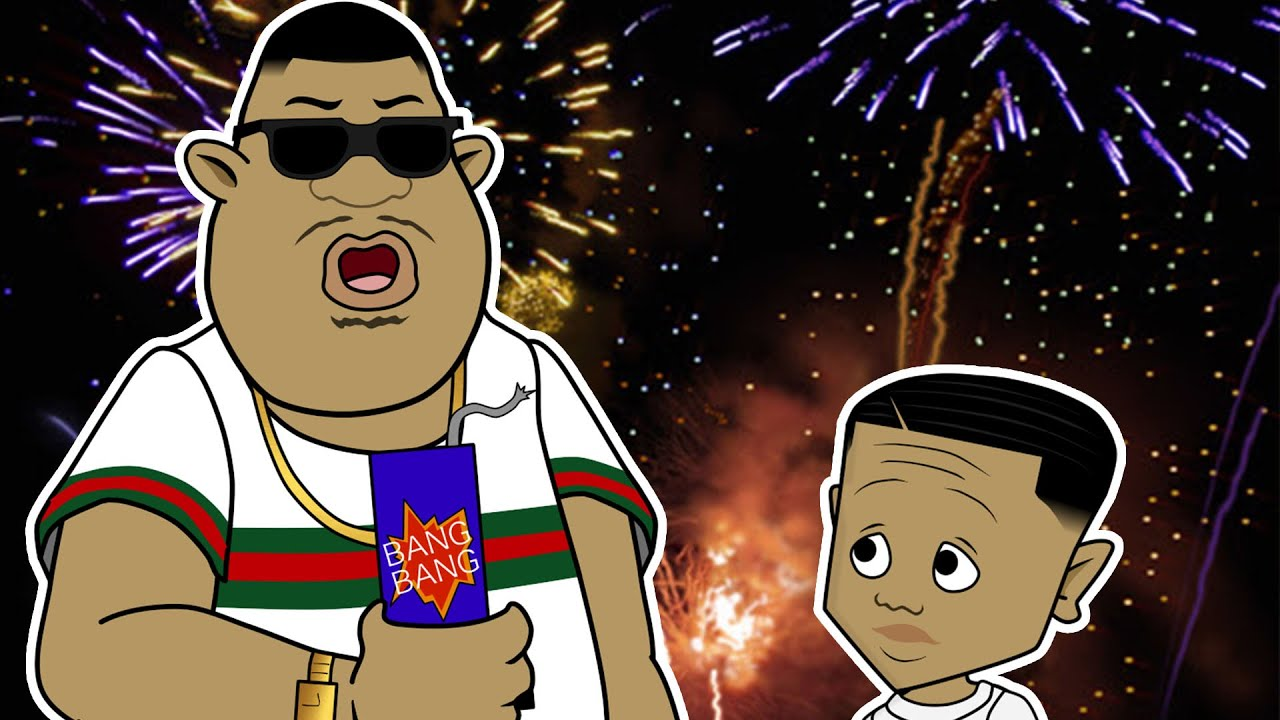 Lil Ron Ron and His Daddy Got Some Fireworks! (Light It Up)