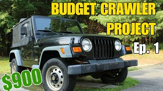 Budget Build Project Intro: 2000 Jeep Wrangler TJ | Budget Crawler Ep 1