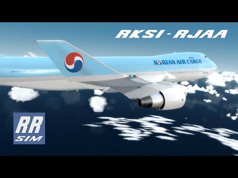 P3d|PMDG 747 V3 Freighter|Seoul - Tokyo|Korean Air Cargo