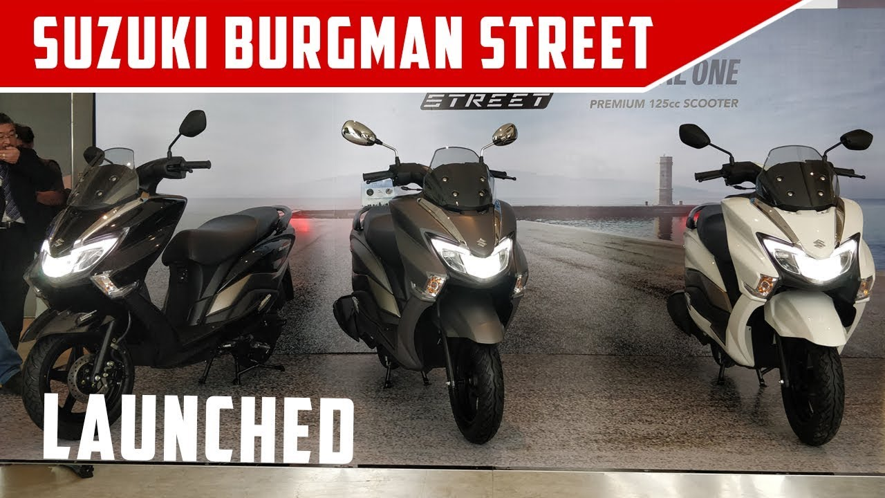 Suzuki Burgman 125 On Road Price In Hyderabad