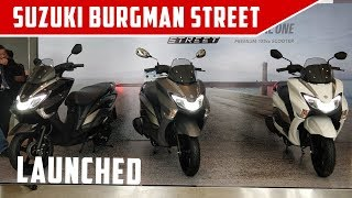 Suzuki Burgman Street - Launch, Price, Quick Walkaround   ZigWheels.com