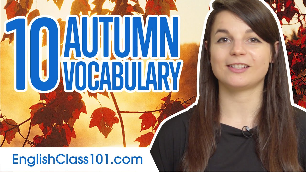 Learn the Top 10 Autumn Words in English! 6