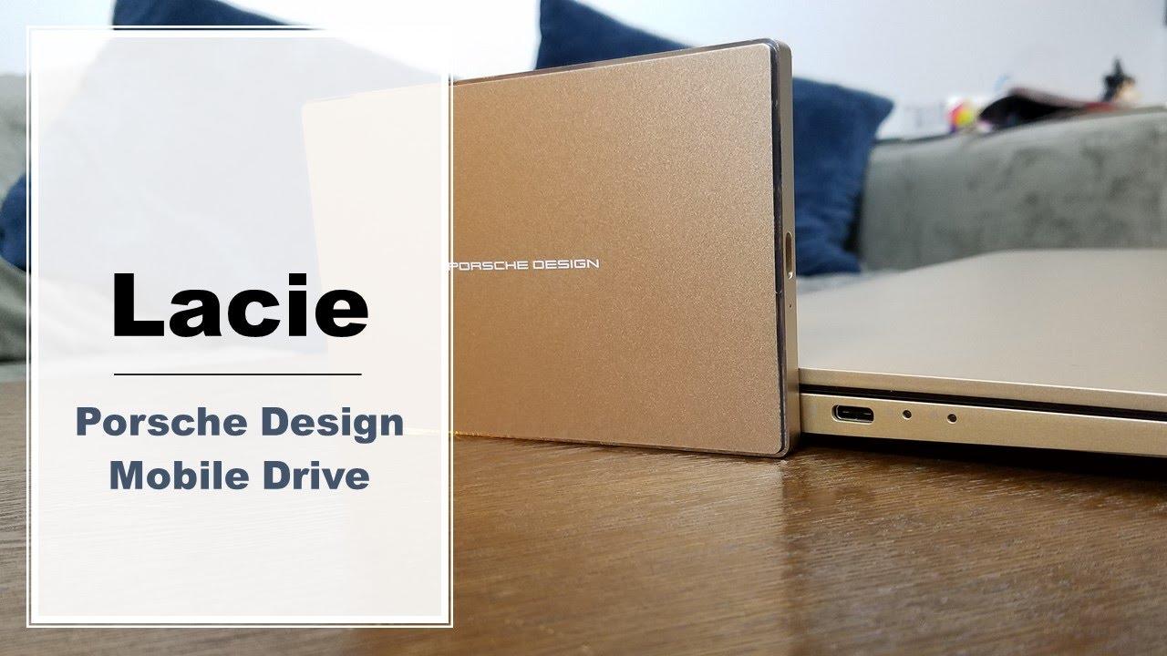 lacie porsche design usb c mobile drive review youtube. Black Bedroom Furniture Sets. Home Design Ideas