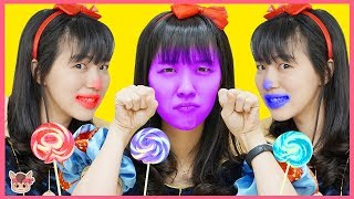 Learn Colors with Colours candy for Kids and children Nursery rhymes songs 공주 색깔 사탕 콩순이 가게 장난감 놀이