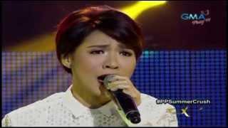 """Party Pilipinas SUMMERCRUSH - VOX Aicelle Santos """"Di Ko Kayang Tangapin"""" = 4/14/13"""