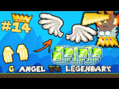 😲INSANE AMOUNT OF ACID! + NEW ITEMS! | G Angel to LEGENDARY #14 | Growtopia