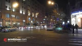 armtimes com/ ՃՈ տեսուչը հարվածում է մեքենային, հայհոյում վարորդին