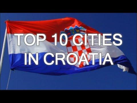 TOP 10 CITIES IN CROATIA