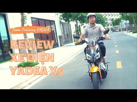 Đánh giá xe máy điện Yadea X5