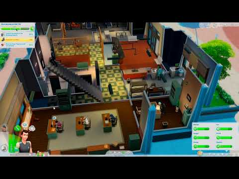 Let's Play The Sims 4 Cats And Dogs EP81 The suspect ran away |