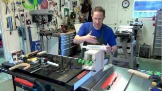 How To Make A Tenon Jig