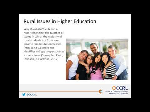 Implementing Equity Guided Change at Rural Community Colleges