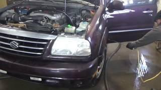 KROWN rust-proofing! (Suzuki XL-7) -Part 2