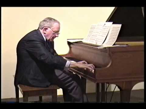 Last Piano Recital: 20th Century Composer Walter S  Hartley plays his own  compositions - Part Six