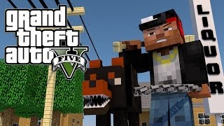 Minecraft GTA V   Grand Theft Auto V Mod Ep 1! (GTA 5)