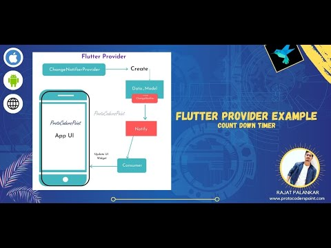 Flutter provider for beginners tutorial with example