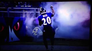 Ray Lewis - last home game intro dance - Baltimore Ravens entrance