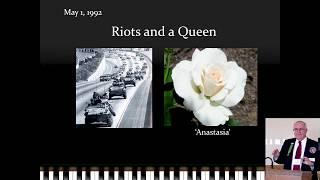 Memories of a Rose Show Veteran - Bob Martin - NCNH 2017 Rose Conference