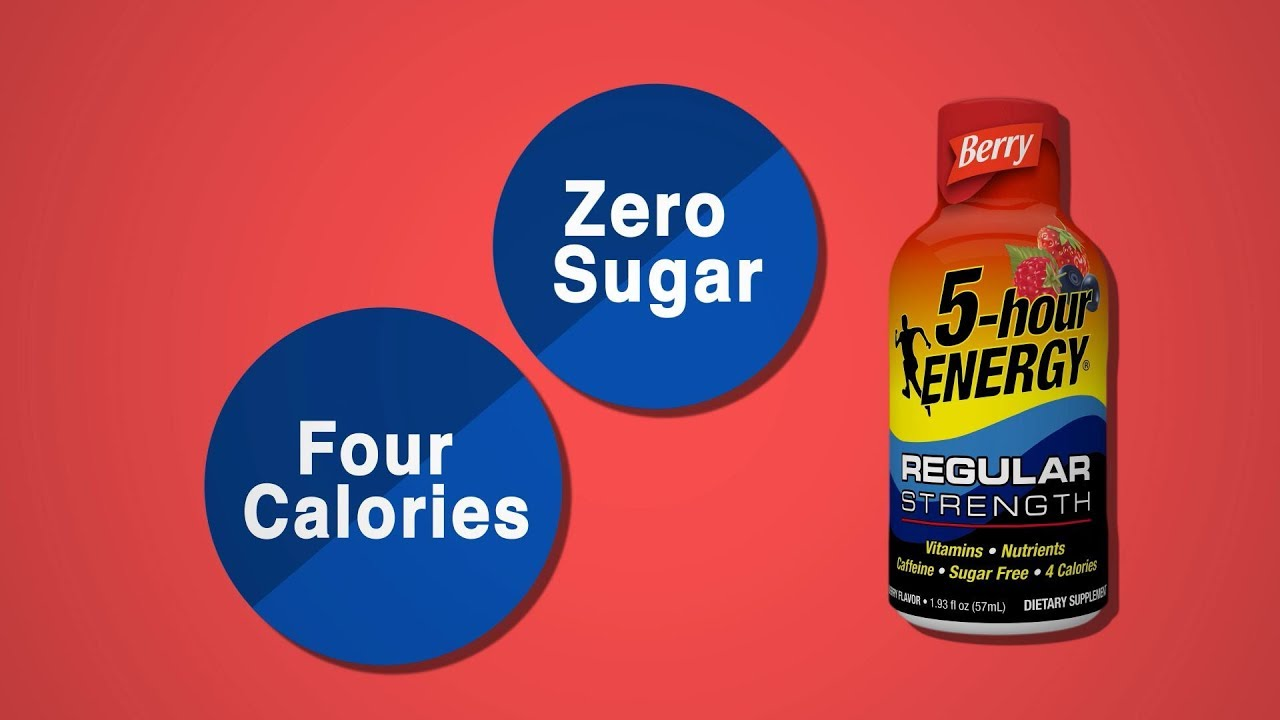 What's In A 5-hour ENERGY® Shot?
