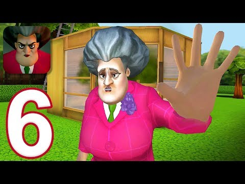 Scary Teacher 3D - Gameplay Walkthrough Part 6 - 5 New Levels (iOS)