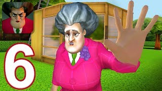 Scary Teacher 3D - Gamęplay Walkthrough Part 6 - 5 New Levels (iOS)