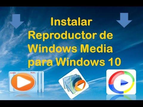 windows media player para Windows 10 Pro