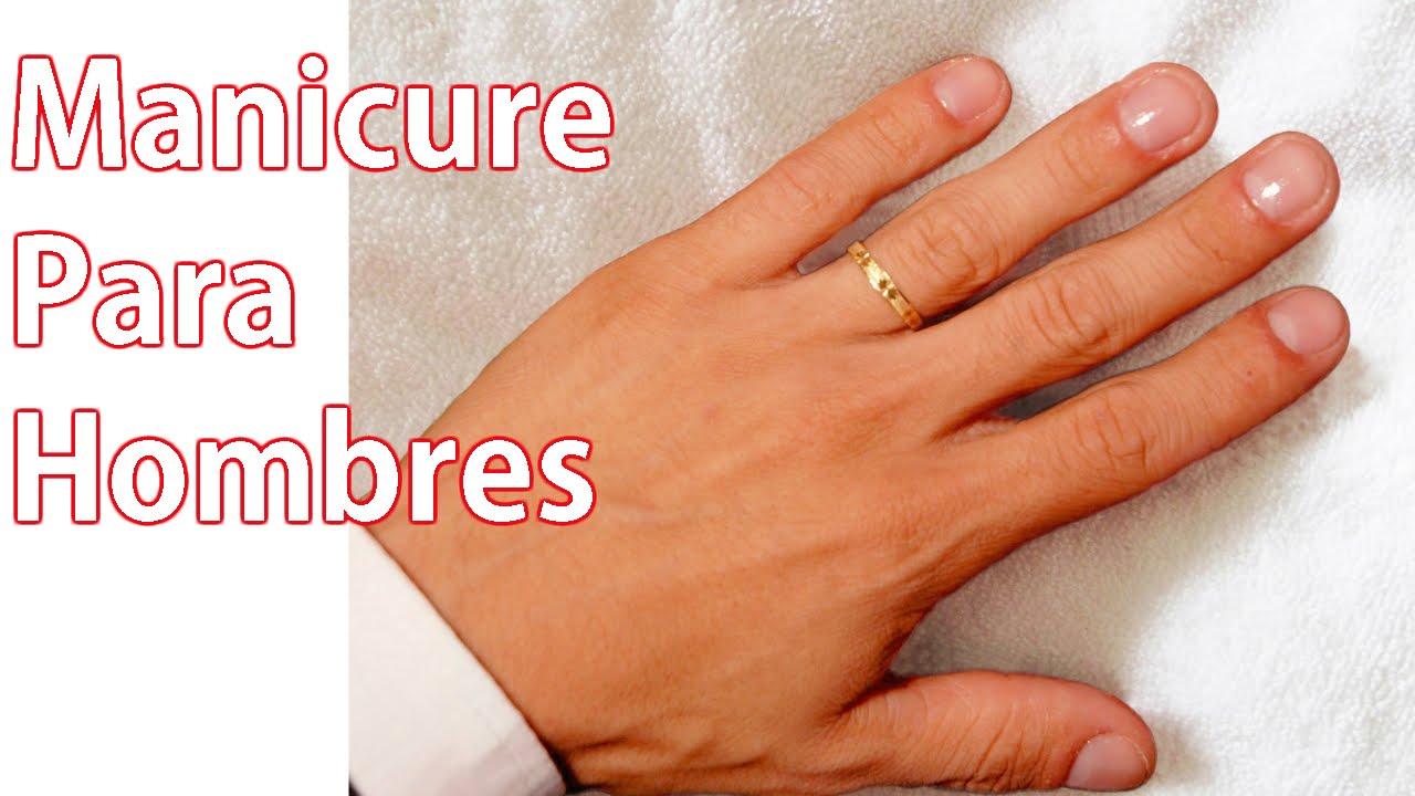 Manicure para hombres | MANICURA MASCULINA - YouTube