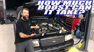 Our One Day Built Turbo Crown Vic Hits The Dyno! ....and Issues Arise.