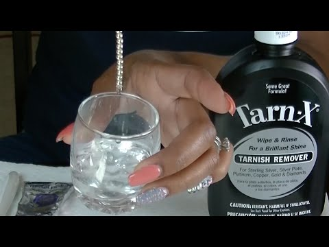 OH NO, I Ruined My Tiffany Jewelry!! How to clean silver jewelry.