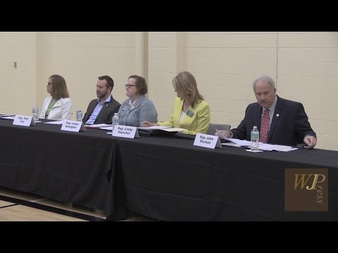 Kansas Legislative Town Hall April 29, 2017, Lenexa KS