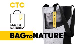 BAG TO NATURE   экологическая акция СТС