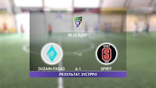 Обзор матча Duzain Fasad Spirit Турнир по мини футболу в Киеве
