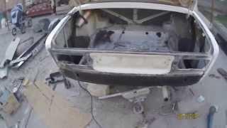 Кузовной ремонт ваз 2106 часть 1