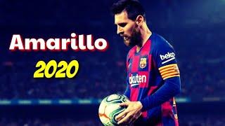 Lionel Messi | J Balvin - Amarillo  | Skills & Goals 2020