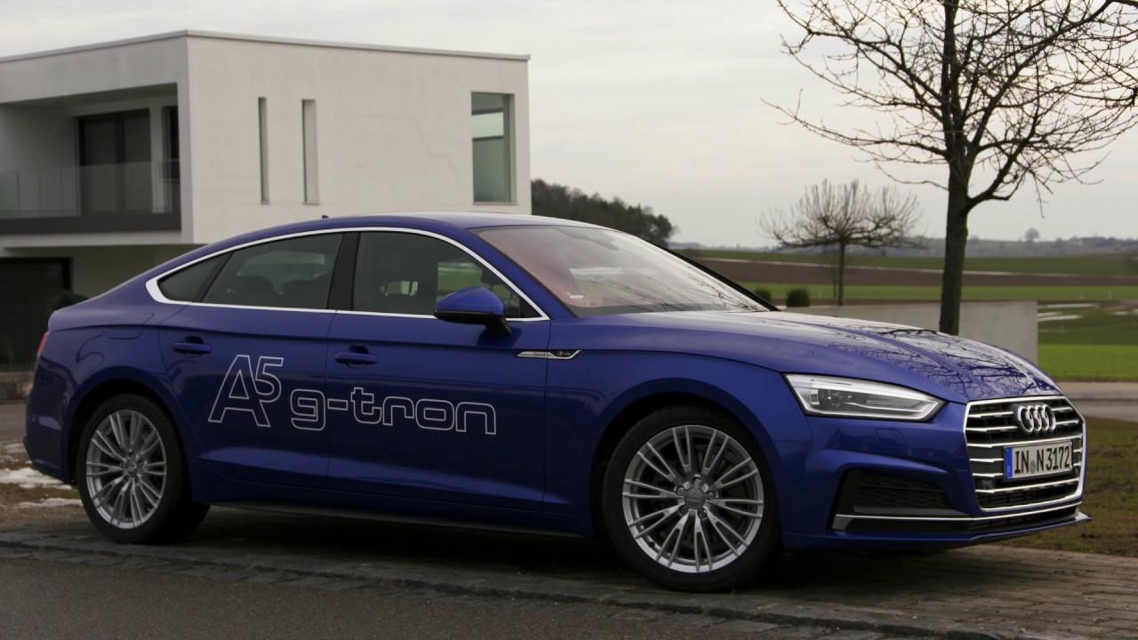 Audi A5 Sportback G-tron - Exterior Design