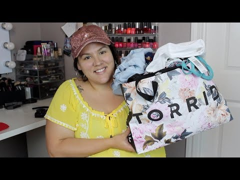 Vacation Plus Size Clothing Haul! ~Torrid, Target + New Shoes!~