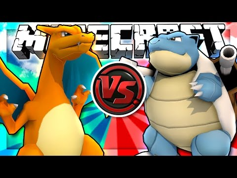THE RED VS BLUE POKEMON CHALLENGE!