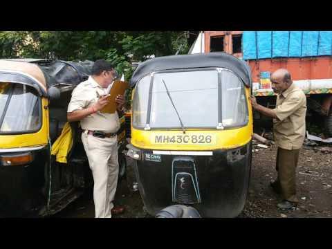 20160908 115557 Auto Rickshaw Scrap at Dy  RTO Navi Mumbai