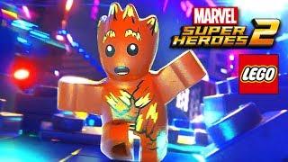 Лего Марвел Супергерои 2 прохождение СТРАЖИ ГАЛАКТИКИ 2 серия лего мультик игра для детей